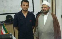 بازدید امام جمعه قشم از شرکت نفت فلات قاره