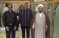 حضور امام جمعه شهرستان قشم در امامزاده سيدسلطانمحمد رودان
