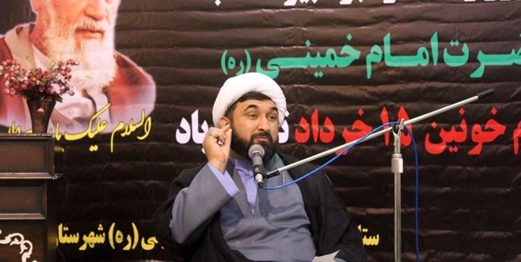 امام خمینی(ره) تجلی ظاهری ایمان در عصر حاضر است