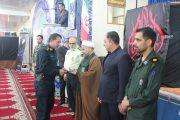 تجلیل امام جمعه قشم از خدمات نیروی انتظامی در سیلاب قشم