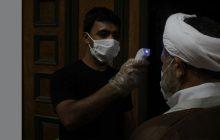 عکس|بازدید امام جمعه قشم از مراسم لیالی قدر
