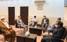 دیدار نماینده منتخب مردم در مجلس با امام جمعه قشم