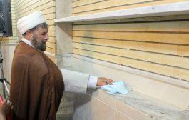 آیین غبارروبی مساجد قشم در آستانه ماه رمضان آغاز شد