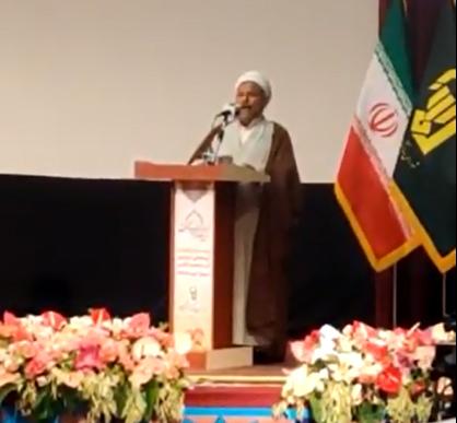 فیلم/ سخنرانی نماینده ائمه جمعه هرمزگان در همایش سراسری ائمه جمعه کشور