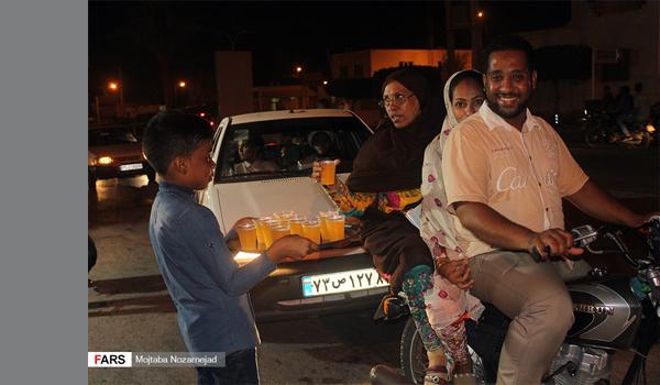 عکس | شهر قشم در شب عید غدیر