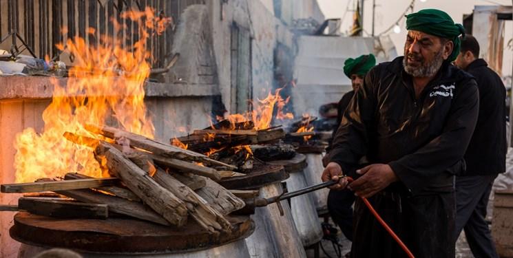 فیلم| طبخ و توزیع ۳۰ هزار پرس اطعام «غدیریه» در قشم